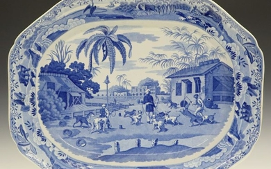 Indian Sporting Series Platter
