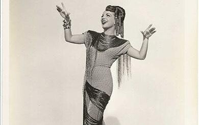 LATINOS IN FILM (ca. 1920s-60s) Archive of 115 photos