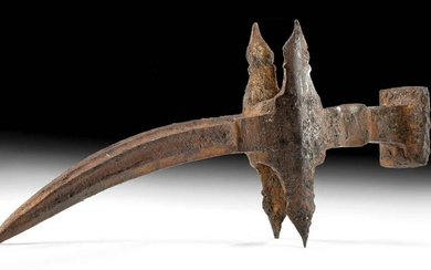 Medieval Italian Iron War Hammer Head