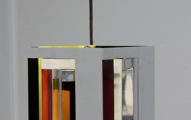 Ole Schwalbe and Simon Henningsen. 'Casablanca' pendant light, limited edition of 200 copies, signed Schwalbe, 99/200