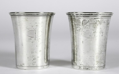 PAIR OF ROOSEVELT RACEWAY PRESENTATION JULEP CUPS