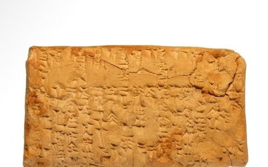 Rare Old Babylonian Lexical Tablet, c. 20th - 19th