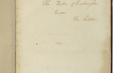 [SCOTT, SIR WALTER] | Minstrelsy of the Scottish Border: Consisting of Historical and Romantic Ballads, Collected in the Southern Counties of Scotland... Kelso: Printed by James Ballantyne for T. Cadell, W. Davies.., 1802