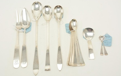 Sterling silver serving utensils, early-mid 20th