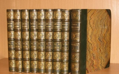 The Botanic Garden Consisting of Highly Finished Representations of Hardy Ornamental Flowering Plants Cultivated in Great Britain. Nine Volumes.