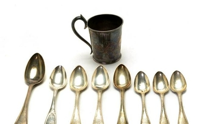 Tiffany, Young, & Ellis Sterling Flatware and