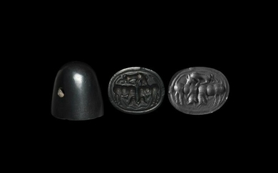 Western Asiatic Haematite Stamp Seal
