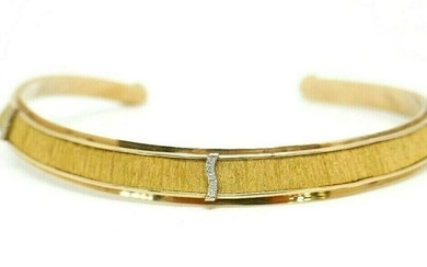 10K Yellow Gold Diamond Choker Necklace