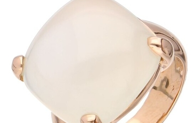 18 kt. Pink gold - Ring - 17.39 ct Moonstone