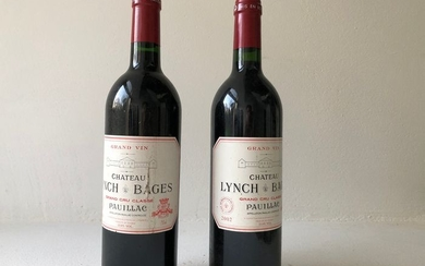 1998 & 2002 Chateau Lynch-Bages - Pauillac Grand Cru Classé - 2 Bottles (0.75L)