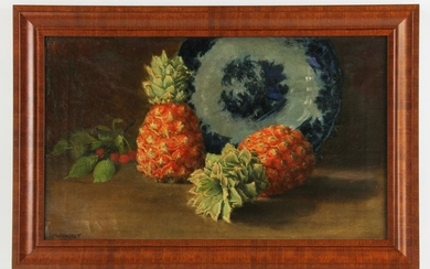 19thC Still Life Signed Louis Charfet