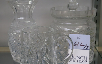 (3) Pcs Waterford Crystal