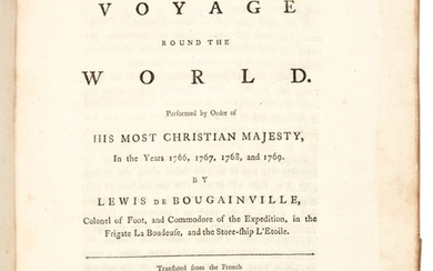 Bougainville | A voyage round the world, 1772