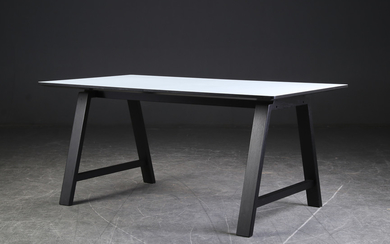 Brdr. Andersen Furniture. ByKato dining table with extension model T1 (4)