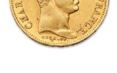 CHARLES X (1824-1830) 40 francs or. 1828....