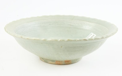 Chinese Celadon Green Plate