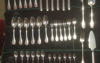 Christofle - Couvert (53) - Silverplate