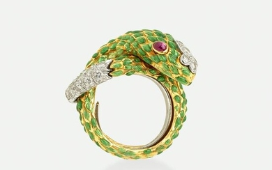 David Webb, Serpent ring