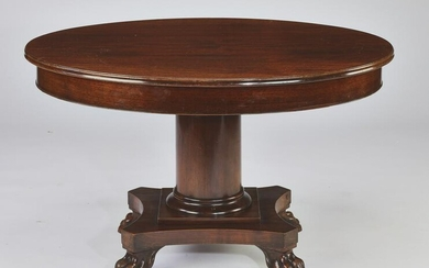 Early 20th c. Louis-Philippe style mahogany table