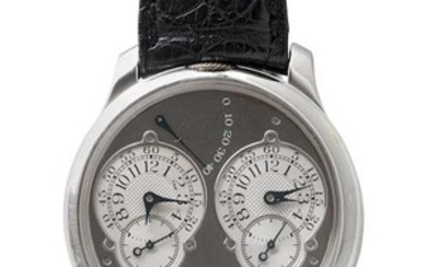 "F.P. Journe. Extremely rare ""Chronometre a Resonance"", 2002."