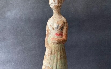 Figure - Pottery - lady - China - Tang Dynasty (618-907)