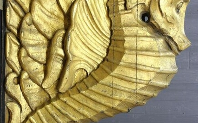Gilt Carved Figurehead