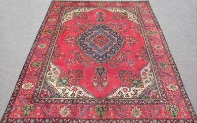 Highly Intricate Persian Tabriz 10.9X7.8