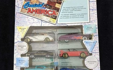 Hot Wheels Crusin America Six Car Toy Collection