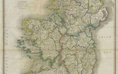 Ireland divided into Provinces and Counties Great &