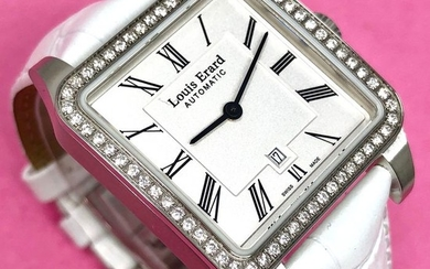 Louis Erard - 64 Diamonds for 0.62 Carat Emotion Collection White Swiss Made - 20701SE01.BDC61 - Women - Brand New