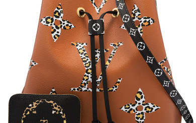 Louis Vuitton Set of Two: Limited Edition Caramel Jungle...