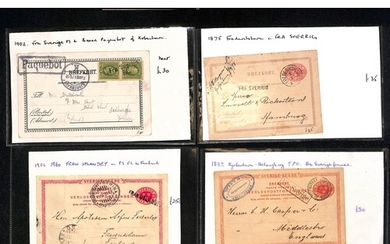 Maritime Mail. 1875-1947 Covers and cards, various handstamp...