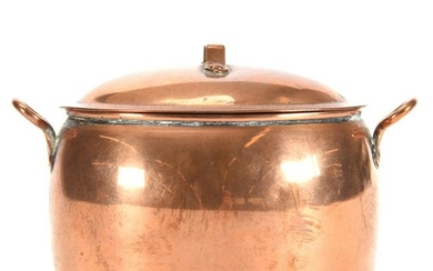 Miniature 19th Century Covered Fish Kettle