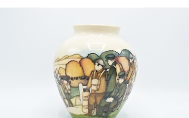 Moorcroft limited edition vase Welcome Home by Paul Hilditch...