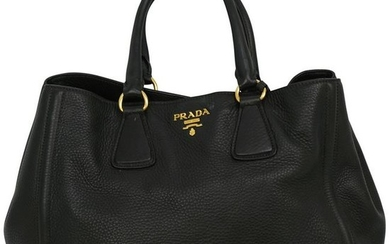 Prada Vitello Daino Leather Tote Bag