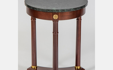 Regency Style Marble Top Side Table