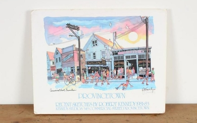Robert Kennedy Provincetown Exhibition Poster