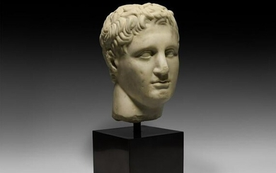 Roman Marble Head of a General