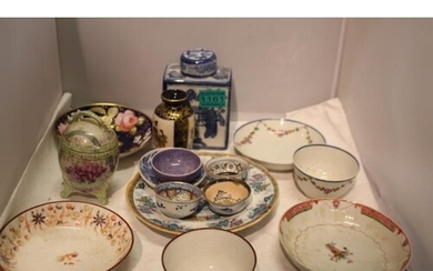 Small Collection of Oriental Porcelain including some 19th C...