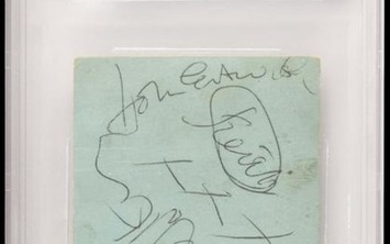 The Who Signed Ticket