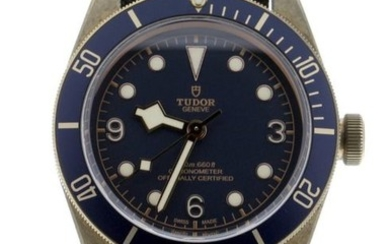 Tudor - Black Bay Bronze Bucherer Blue Dial - 79250BB - Unisex - 2017