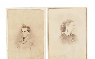 Two Virginia CDVs Related to The Confederacy