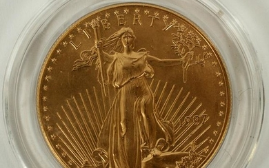 U.S. $50.DOLLAR GOLD COIN STANDING LIBERTY