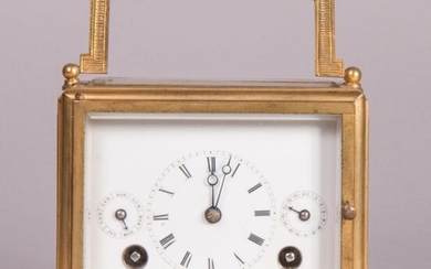 extremely rare travel clock 1805 Schaffhausen by Heinrich Moser | Reiseuhr 1805 Schaffhausen von Heinrich Moser