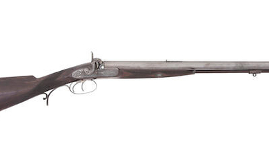 A Fine 29-Bore (.550) Percussion D.B. Sporting Rifle, By Edward Paton, 44 George Street, Perth, Maker to H.R.H. The Late Prince Consort, No. 2329, Circa 1865
