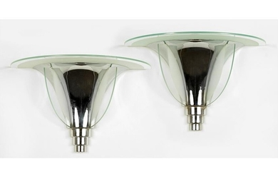 A Pair of Art Deco Wall Sconces.