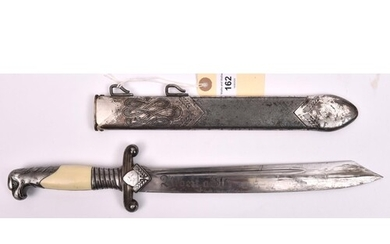 A Third Reich RAD Leader's dagger, by Alcoso, Solingen, with...