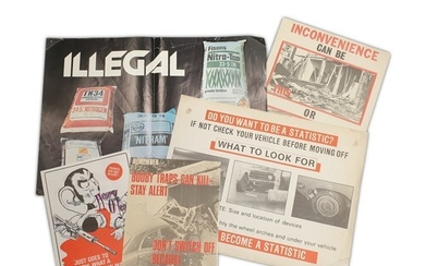 A collection of late 1970s to 1980s propaganda and security ...