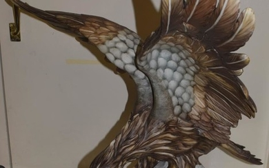 A large Continental model of an eagle with out-stretched wings...
