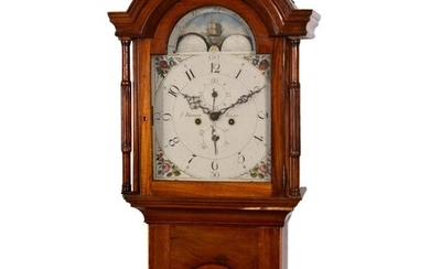 A late 18th century Channel Islands longcase clock by Louis ...